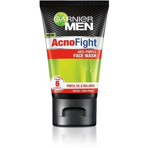 Garnier Men Acno Fight Anti Pimpel oil dullness Face Wash 100g Face Wash(100 g)