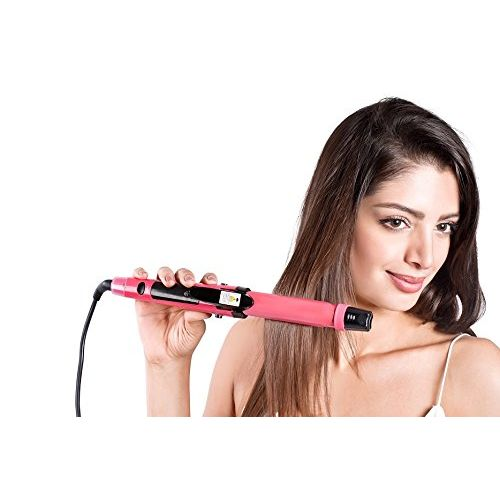 Nova NHC 992 2 in 1 Hair Straightner (Pink)