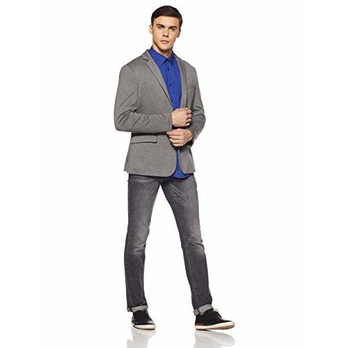 Parx Men's Plain Slim Fit Casual Shirt