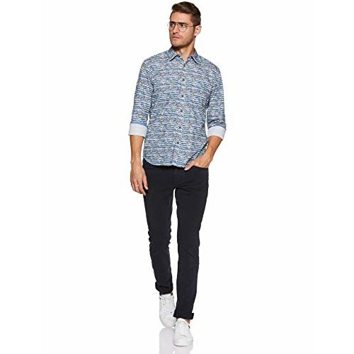 Parx Men's Checkered Regular fit Casual Shirt