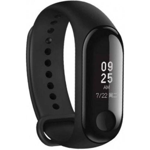 RR M3 BLACK 009 Fitness Smart Band(Black Strap, Size : Adjustable)