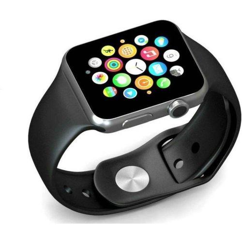 Sai Enterprises A1 Smart watch black Smartwatch(Black Strap Regular)