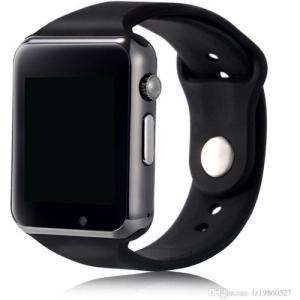 Sunrise A1 BLACK SMART WATCH BLACK Smartwatch(Black Strap REGULAR)