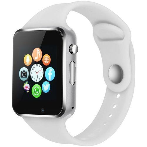 Life Like A1 Bluetooth with sim & Tf card slot WHITE Smartwatch(White Strap Regular)