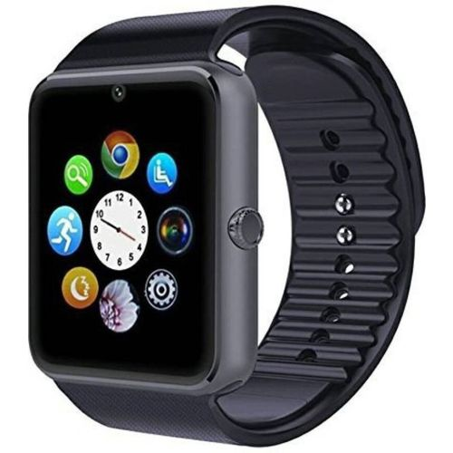 SPORTZEE GT08 BLACK Smartwatch(Black Strap)