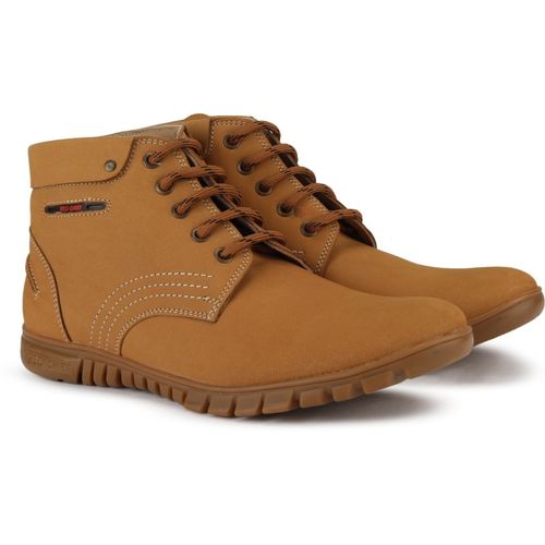 Red Chief RC3508 022 High Tops For Men(Brown)