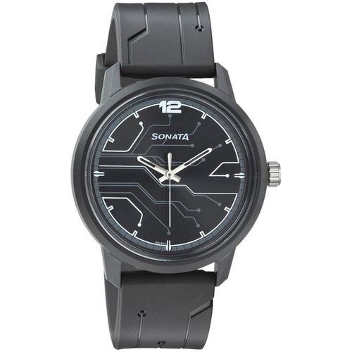 Sonata 77085PP01 Volt Analog Watch - For Men