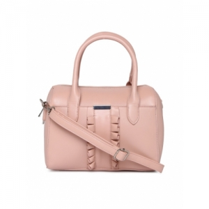 CODE by Lifestyle Pink Synthetic Solid Handheld Bag