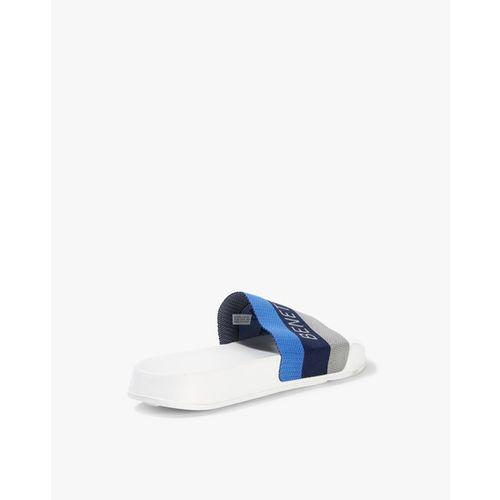UNITED COLORS OF BENETTON Colourblock Sliders with Signature Branding
