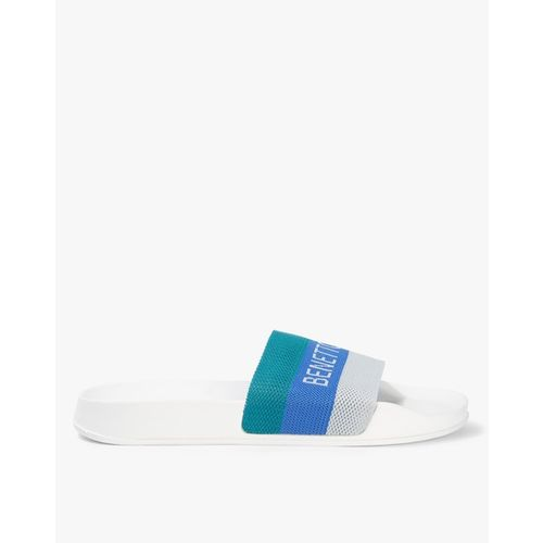 UNITED COLORS OF BENETTON Textured Sliders with Signature Branding