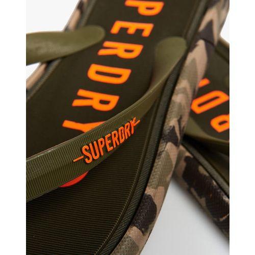 SUPERDRY Surplus Goods Camouflage Print Thong-Strap Flip-Flops
