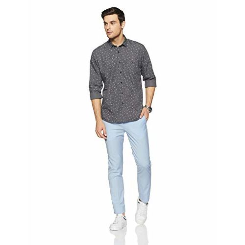Louis Philippe Sport LP Louis Philippe Men's Printed Slim Fit Casual Shirt