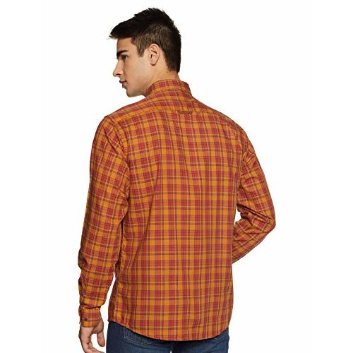 Louis Philippe Sport Men's Checkered Slim fit Casual Shirt