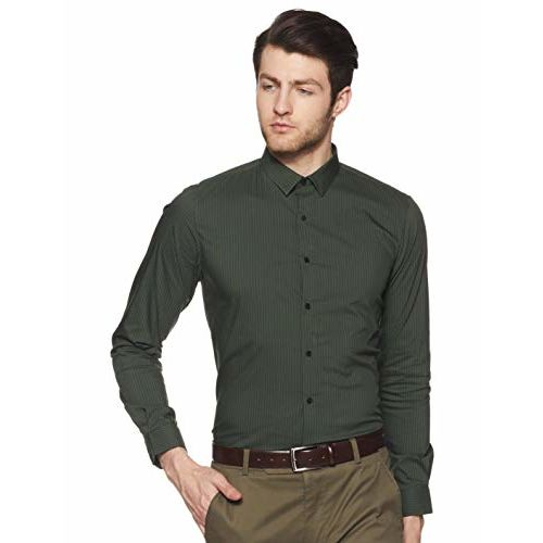 Louis Philippe Sport Men's Geometric Print Slim fit Casual Shirt