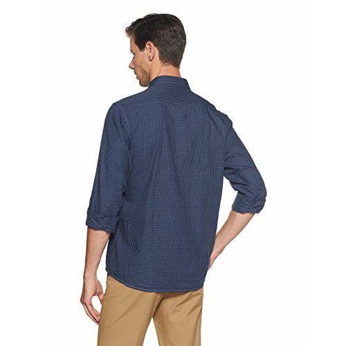 Louis Philippe Sport LP Louis Philippe Men's Geometric Print Slim Fit Casual Shirt