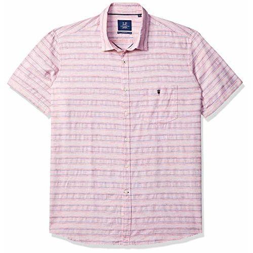 Louis Philippe Sport Men's Printed Slim fit Casual Shirt