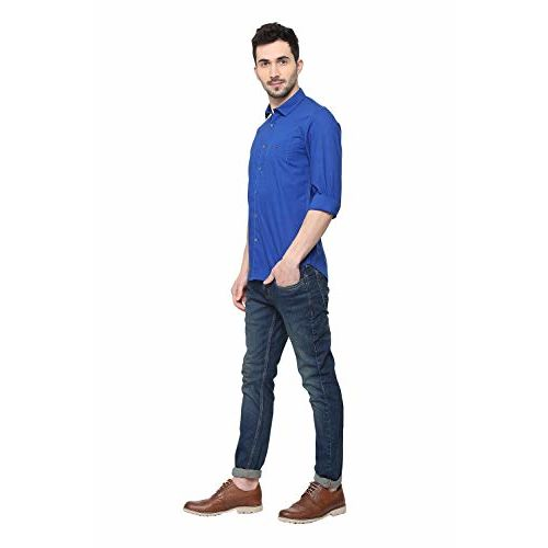 Louis Philippe Sport Men's Printed Slim fit Casual Shirt