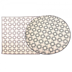 Glassiano Bed Server Mat Set of 2/ Food Mat/Bedsheet Protector/Waterproof Bed Server Food Mat