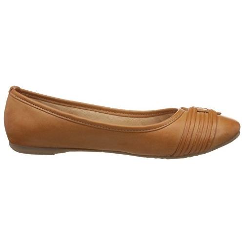 BATA Brown Synthetic Casual Rebecca Ballet Flats