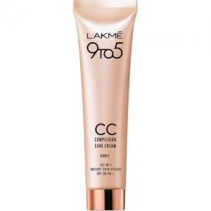 Lakme 9 to 5 Complexion Care CC Cream Foundation(Honey, 30 g)