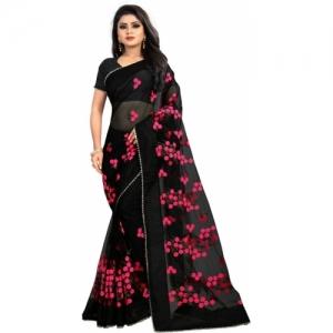2b68ce9d28 Buy Taanshi Self Design Kanjivaram Cotton Silk Saree online ...