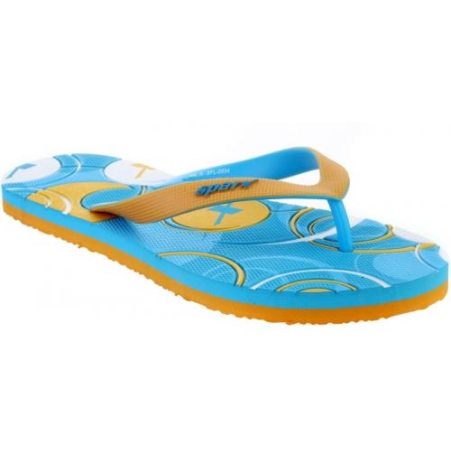 Sparx Sky Blue Rubber Slip-On Flip Flops