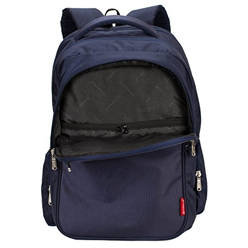 Cosmus Atomic Blue Solid Unisex Backpack