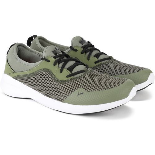 Puma Pronto Idp Running Shoes For Men(Green)