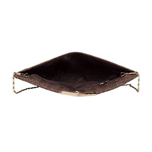 ADISA Pink PVC PU CL029 Clutch/Sling Bag