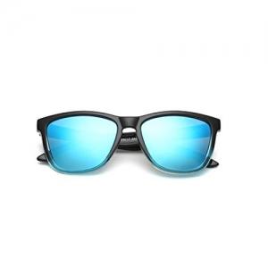 U.S. Crown Polarized Wayfarer Style UV Protected Unisex Sunglasses