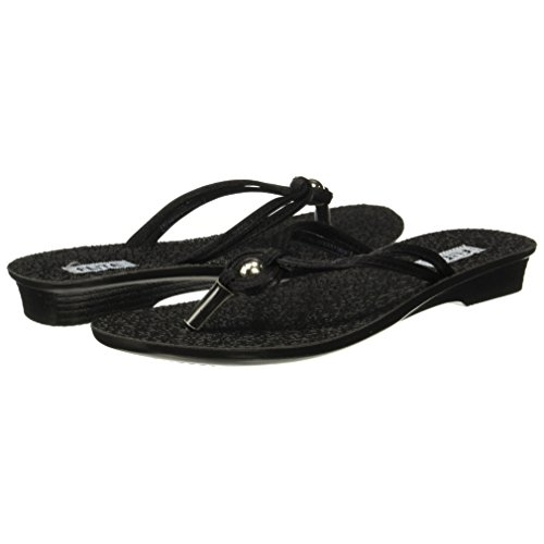 FLITE Black Synthetic Casual Slippers