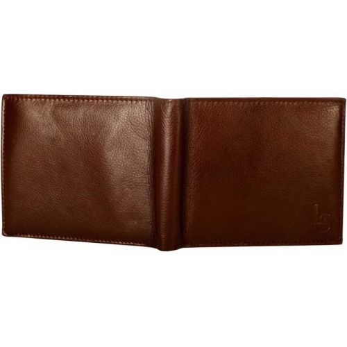 Louis Stitch Brown Genuine Leather Wallet(15 Card Slots)