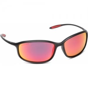 Fastrack Black Mirrored Sports Sunglasses