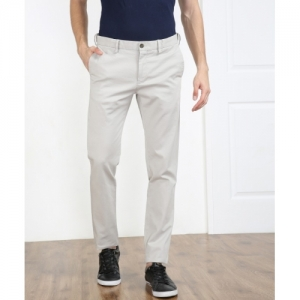 Arrow Sport White Slim Fit Trousers
