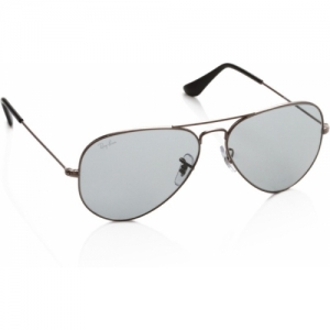 Ray-Ban Grey Driving Style Aviator Sunglasses