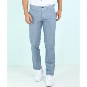 Park Avenue Blue Regular Fit Trousers