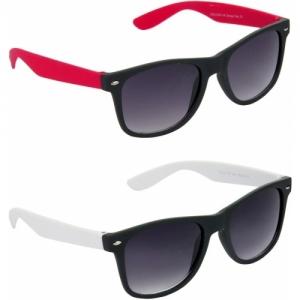 Hrinkar Grey Stylist Combo Wayfarer Sunglasses