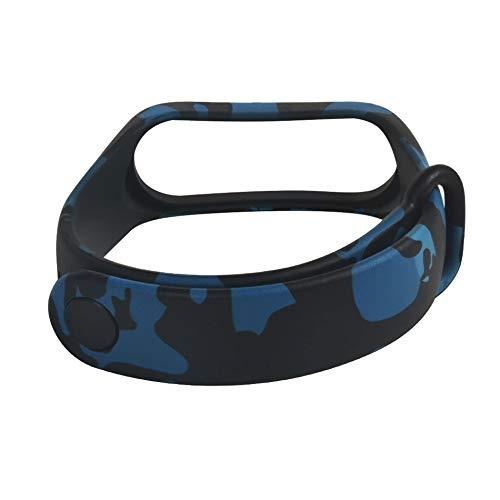 MStick Replacement Silicone Camouflage Army Style Band Strap for Xiaomi Mi Band 3