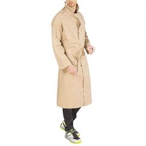 Duckback Cream Solid Men's Rubber Raincoat