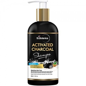 StBotanica Activated Charcoal Hair Shampoo, 300ml