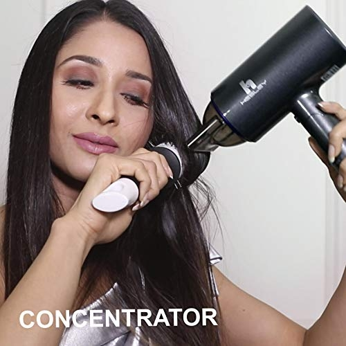 HESLEY Foldable Hair Dryer with Cool Shot Knob 1400 Watts - Luxury series HD-01