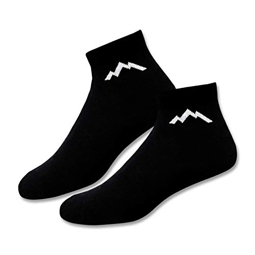 Ranger Sport Men's Athletic Cotton Ankle Socks (Pack of 2)