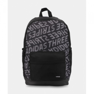 ADIDAS Black Polyester Laptop Backpack