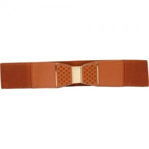 Gansta Brown Fabric, Nylon, Metal Belt