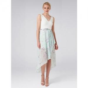 18f46c07891 Buy Kazo Women Navy Blue Velvet Self-Design Wrap Dress online ...