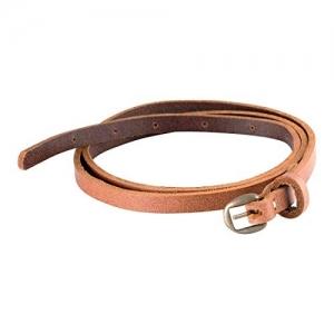 TRYSCO Brown Stylish Pure Genuine Leather Belt