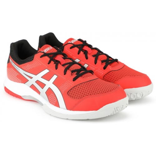 Asics GEL-ROCKET 8 Orange Running Shoes For Men