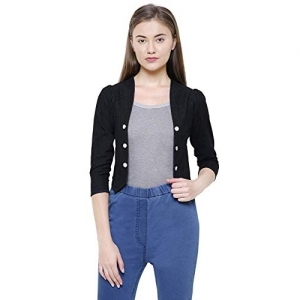 Westa Clothing Black Denim Shrug Latest Crop