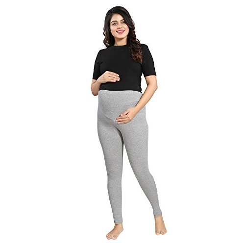 Mamma's Maternity Heavy Lycra Maternity Leggings
