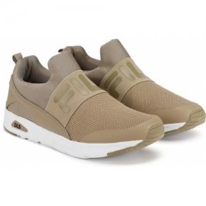 Fila LENWOOD Running Shoes For Men(Green, Brown)